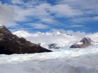 "View on top of the ""Perito Moreno"" glacier"